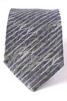 London - Gherkin, diamond windows - woven silk tie (pattern detail) 8cm at widest point