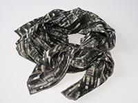 London - Lloyds of London - silk scarf - light crepe de chine, square