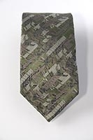 London - Lloyds of London - woven silk tie, (pattern detail) 8cm at widest point