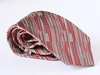 London bus. Oxford Street -  woven silk tie