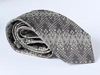 New York, Central Park - woven silk tie