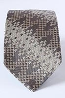 New York, Central Park - woven silk tie (pattern detail) 8cm at widest point