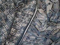London, Canary Wharf - blue - fabrics - silk, single georgette and light crepe de chine