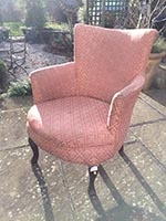 Chair - Victorian - before