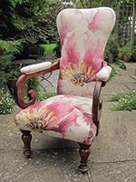 Chair - Victorian - elbow - front