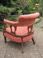 Chair - tub - back