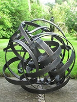 Ebb and Flow 8 - Mild steel sculpture