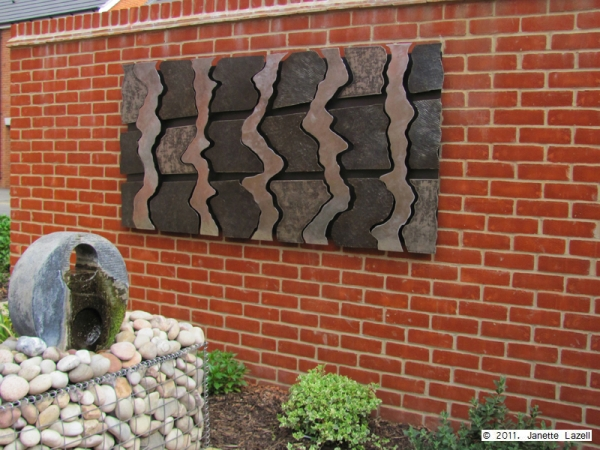 Sculpture-garden and wall hanging-view 7