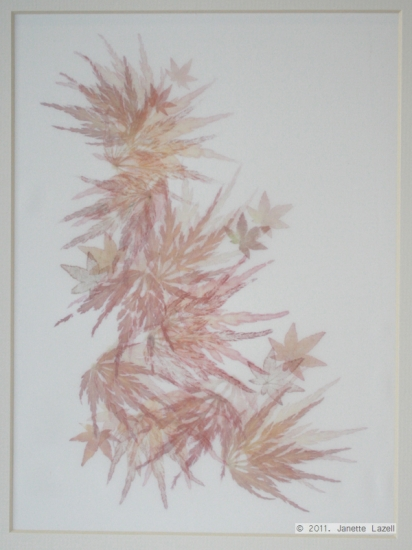 Mixed media-leaf printing 3