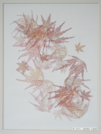 Mixed media-leaf printing 4