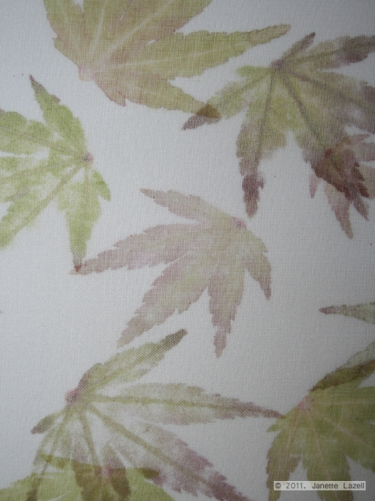 Mixed media-leaf printing 12