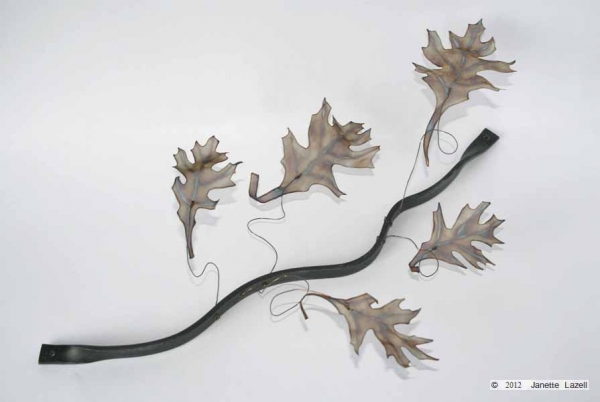 'Leaf wave-Oak 5'